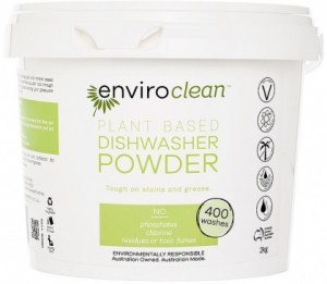 Enviro Clean Dishwasher Powder Super Concentrate 2Kg