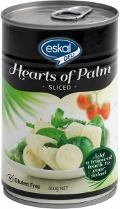 Eskal Deli Hearts of Palm Sliced  400g Can