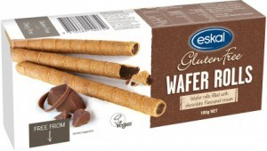 Eskal  Wafer Rolls Chocolate Cream 100g