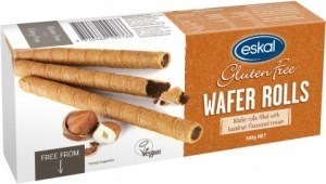 Eskal  Wafer Rolls Hazelnut Cream 100g