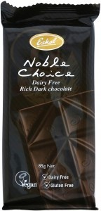 Eskal Noble Choice Dark Dairy Free Chocolate 85g