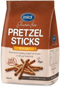 Eskal Pretzel Sticks Sea Salt 200g