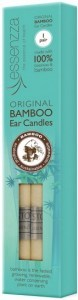 Essenzza Bamboo Ear Candles - 1 Pair
