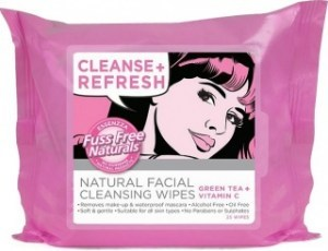 Essenzza Fuss Free Facial Cleanse Wipes Refresh 25Pk