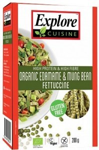 Explore Cuisine Organic Edamame & Mung Bean Fettuccine 200g