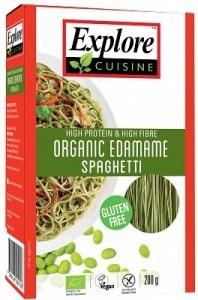 Explore Cuisine Organic Edamame Spaghetti 200g NOV20