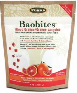 Flora Baobites Blood Orange Baobab Super Fruit Snacks 175g