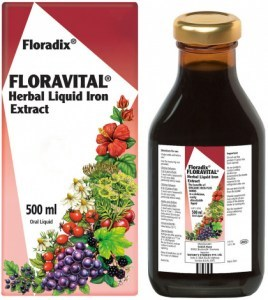Floradix Floravital Herbal Liquid Iron Extract 500ml