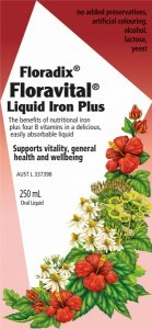 Floradix Floravital Liquid Iron Plus 250ml