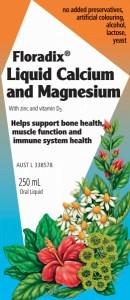 Floradix Liquid Calcium & Magnesium 250ml