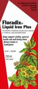 Floradix Liquid Iron Plus 250ml