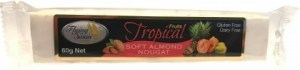 Flying Swan Soft Almond Tropical Nougat Bar 60g JUL19