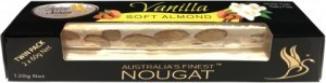Flying Swan Soft Almond Vanilla Nougat Bar 120g