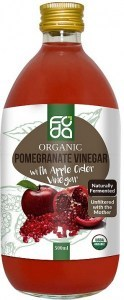 Foda Organic Pomegranate Apple Cider Vinegar 500ml