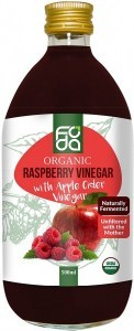 Foda Organic Raspberry Apple Cider Vinegar 500ml