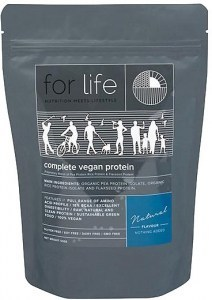 For Life Complete Vegan Protein Powder Natural 510g