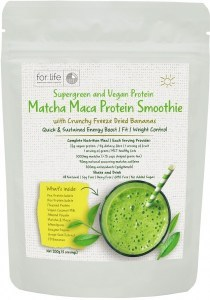 For Life Matcha Protein Smoothie Powder Banana 200g AUG20