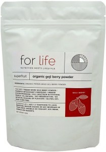 For Life Organic Goji Berry Powder 100g