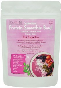 For Life Pink Pitaya Rose Beauty Smoothie Bowl Mix 175g AUG20