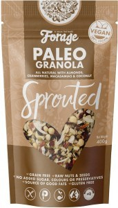 Forage Paleo Granola Sprouted 400g