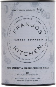 Franjos Kitchen Date, Walnut & Maple Lactation Muesli 360g