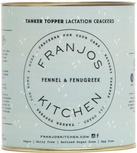 Franjo's Kitchen Fennel & Fenugreek Tanker Topper Lactation Crackers 280g