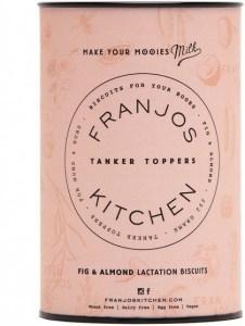 Franjo's Kitchen Fig & Almond Tanker Topper Lactation Biscuits 252g