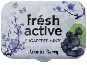Fresh Active Aronia Berry Mints 20g