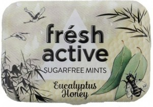 Fresh Active Eucalyptus Honey Mints 20g