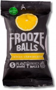 Frooze Balls Raw Energy Snack Balls Lemon Cheesecake (5balls)  70g