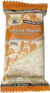 Future Bake Apricot Yoghurt Coated Muesli Slice 100g