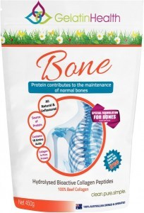 Gelatin Health BONE (Strength) Collagen 450g