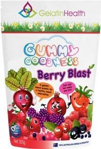 Gelatin Health Gummy Goodness Berry Blast 300g