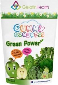 Gelatin Health Gummy Goodness Green Power 300g