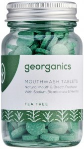 Georganics Mouthwash Tablets Tea Tree 180tabs