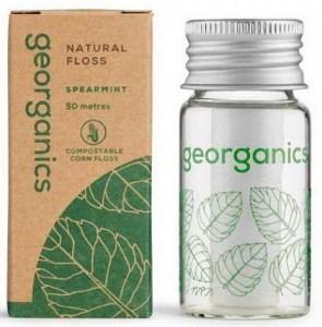 Georganics Natural Floss Spearmint 50m