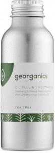 Georganics Oil Pulling Mouthwash Tea Tree 100ml