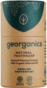 Georganics Tooth Soap Peppermint 60ml