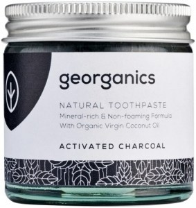 Georganics Toothpaste Activated Charcoal 60ml