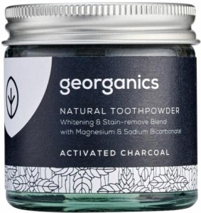 Georganics Toothpowder Activated Charcoal 60ml