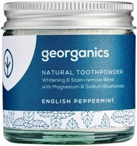 Georganics Toothpowder Peppermint 60ml