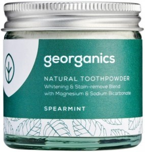 Georganics Toothpowder Spearmint 60ml