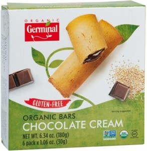 Germinal Organic Bars Chocolate Cream  6x35g Bars