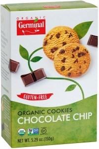 Germinal Organic Choc Chip Cookies  150g