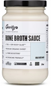 Gevity RX Bone Broth Sauce Great Guts Mayo 375ml