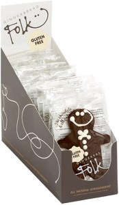 Gingerbread Folk I'm Gluten Free Gingerbread Men Chocolate 24x30gOCT20