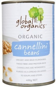 Global Organics Cannellini Beans 400g