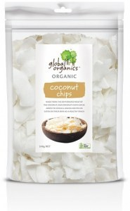 Global Organics Organic Coconut Chips  200g