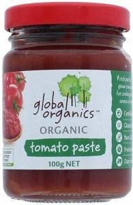 Global Organics Organic Tomato Paste Glass  100g