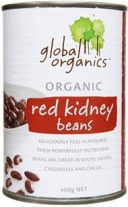 Global Organics Red Kidney Beans 400gm
